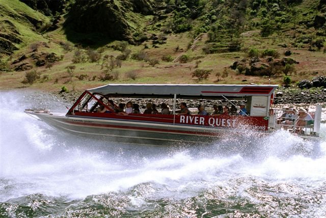 jet boat tour hells canyon riverquest excursions